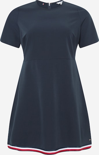 Tommy Hilfiger Curve Kleid 'ANGELA' in dunkelblau / rot / weiß, Produktansicht