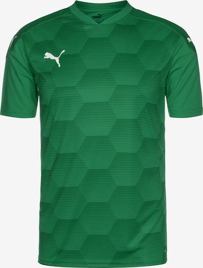 PUMA teamFinal 21 Graphic Fußballtrikot Herren in grün, Produktansicht