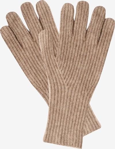 SAMAYA Strickhandschuhe 'LTTLE LIZ' in beige / braun, Produktansicht