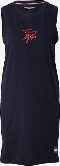 Tommy Hilfiger Underwear Spalna srajca | nočno modra / melona / bela barva, Prikaz izdelka