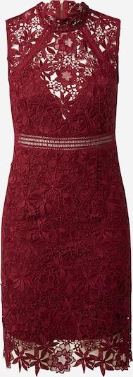 Bardot Jurk 'Eleni' in de kleur Wijnrood, Productweergave