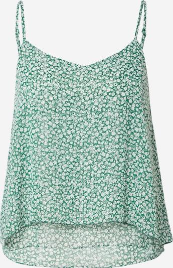 Bluză 'CURTIS' Grace & Mila pe verde / alb, Vizualizare produs