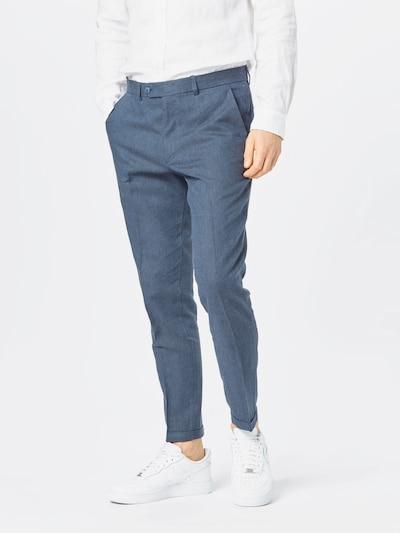 JACK & JONES Plisované nohavice - námornícka modrá, Model/-ka