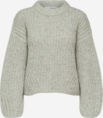 Selected Femme Petite Sweater in mottled grey, Item view