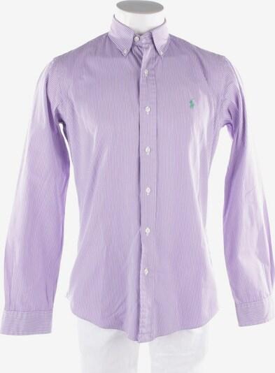 POLO RALPH LAUREN Hemd in M in flieder / weiß, Produktansicht