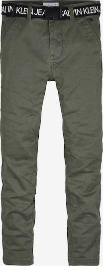 Calvin Klein Jeans Chino in oliv, Produktansicht