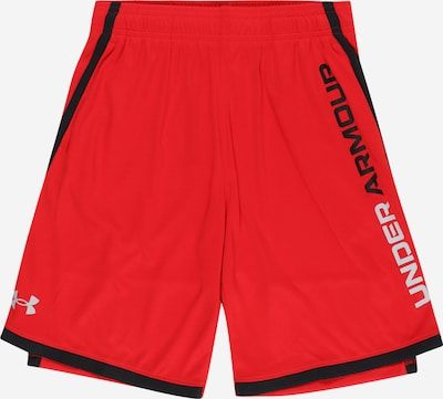 UNDER ARMOUR Workout Pants 'Stunt 3.0' in Red / Black, Item view
