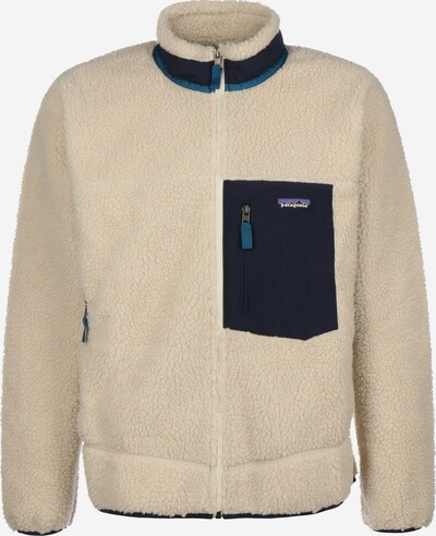 PATAGONIA Funktionele fleece-jas in de kleur Beige / Navy, Productweergave