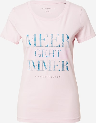 EINSTEIN & NEWTON T-Krekls 'Meer Geht Immer', krāsa - debeszils / rožkrāsas, Preces skats
