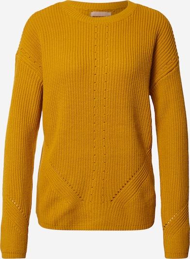 PIECES Pullover in goldgelb, Produktansicht