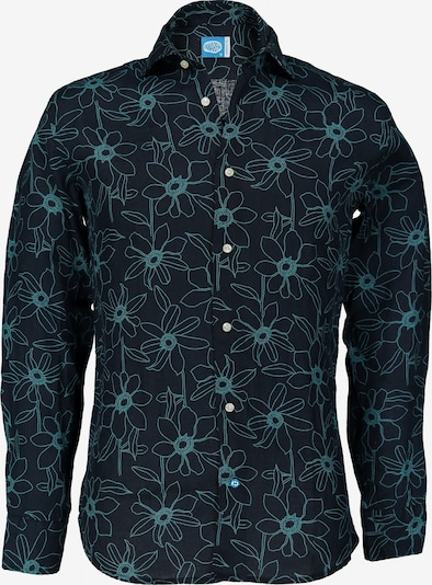Panareha Hemd in navy / mint, Produktansicht