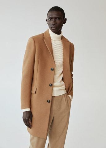 MANGO MAN Преходно палто 'arizona' в кафяво