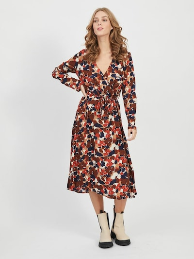 VILA Kleid in mischfarben, Modelansicht