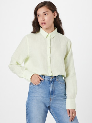 Gina Tricot Blouse 'Kimberly' in Green
