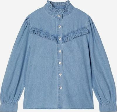 NAME IT Bluse in blue denim, Produktansicht