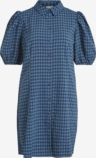 Rochie tip bluză 'Pipe' VILA pe albastru marin / albastru porumbel, Vizualizare produs