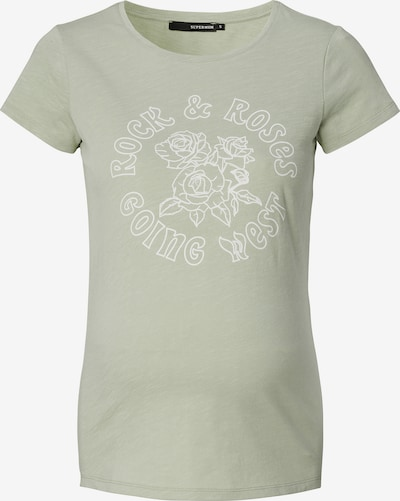 Supermom T-shirt 'Rock Rose' i grön, Produktvy