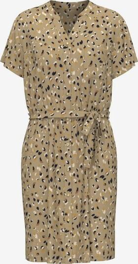 OBJECT Kleid 'Birdy' in creme / dunkelbeige / braun / gold / schwarz, Produktansicht