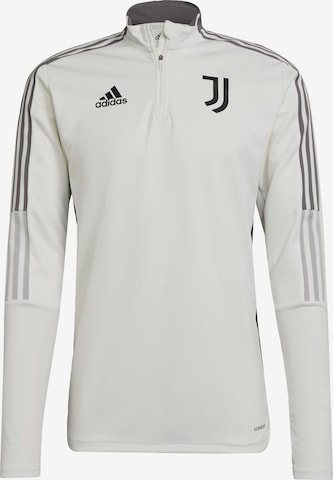 ADIDAS PERFORMANCE Sportsweatshirt 'Juventus Turin Tiro' in Weiß