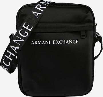ARMANI EXCHANGE Taška cez rameno - Čierna