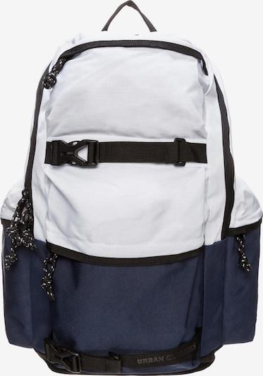 Urban Classics Rucksack in marine / schwarz / weiß, Produktansicht