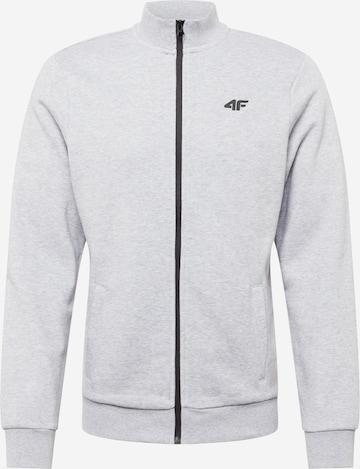 pelēks 4F Sportiska tipa jaka