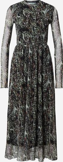 Moves Obleka   rjava / kaki / črna barva, Prikaz izdelka