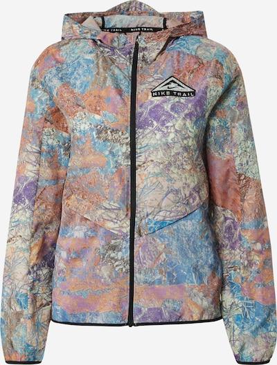 NIKE Zunanja jakna | bež / nebeško modra / svetlo modra / pastelno rdeča / črna barva, Prikaz izdelka
