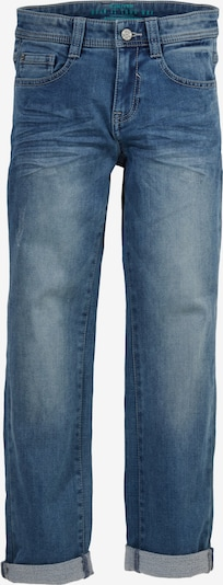 s.Oliver Regular Fit: Stretchige Thermojeans in blau, Produktansicht