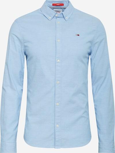 Tommy Jeans Camisa 'TJM SLIM STRETCH OXFORD SHIRT' en azul claro, Vista del producto