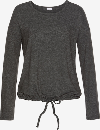 LASCANA Majica za spanje | antracit barva, Prikaz izdelka