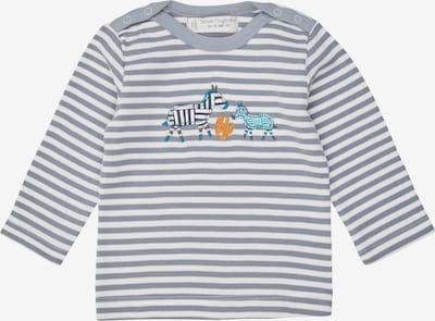 Sense Organics T-Shirt 'LUNA' en bleu / bleu clair / noir / blanc, Vue avec produit