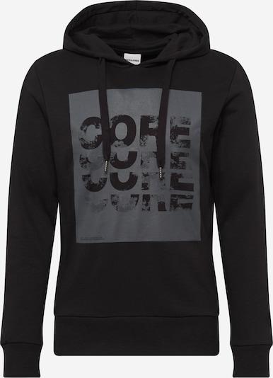 JACK & JONES Sweat-shirt en gris / noir, Vue avec produit