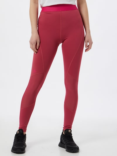 Pantaloni sport ADIDAS PERFORMANCE pe roz pitaya / roz neon, Vizualizare model