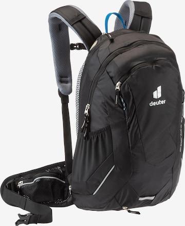 DEUTER Sports Backpack 'Superbike 18 EXP' in Black