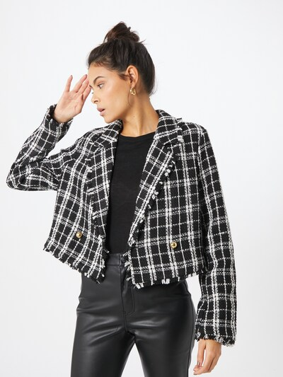 Gina Tricot Blejzer 'Malena' - čierna / biela, Model/-ka