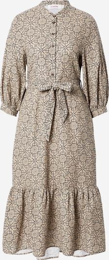Louche Kleid 'Rubens - Orangerie' in nachtblau / hellbraun, Produktansicht