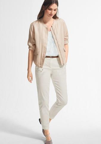 COMMA Chino-püksid, värv valge