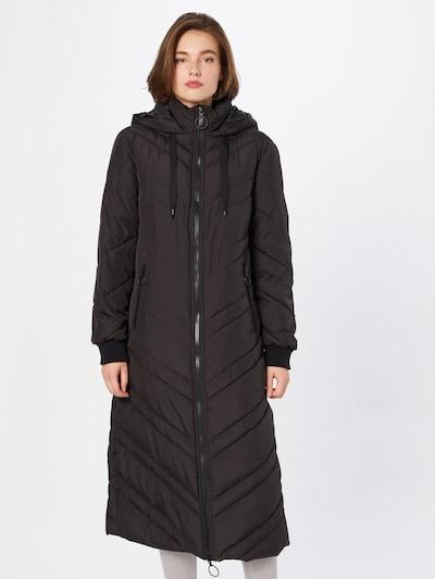 JDY Mantel in schwarz, Modelansicht