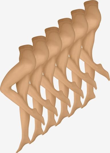 Nur Die Panty's ' Luftig Leicht ' in de kleur Beige, Productweergave