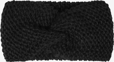 Zwillingsherz Opaska na czoło w kolorze czarnym, Podgląd produktu