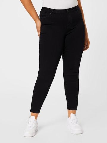 Vero Moda Curve Jeans 'TILDE' in Zwart