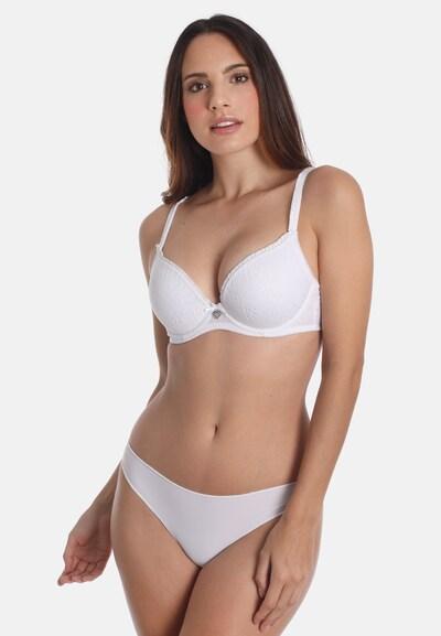 sassa Dirndl Push Up-BH DIRNDL in weiß, Modelansicht