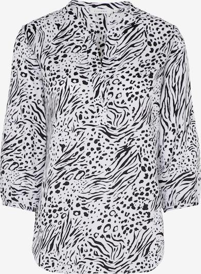 ETERNA Bluse 'MODERN CLASSIC' in schwarz / weiß, Produktansicht