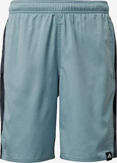 ADIDAS PERFORMANCE Sportzwembroek 'Classic Length Graphic' in de kleur Lichtblauw / Zwart, Productweergave
