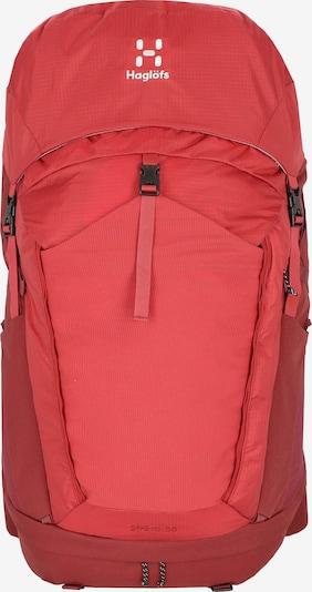 Haglöfs Sac à dos de sport 'Ströva 65 M-L ' en rouge, Vue avec produit