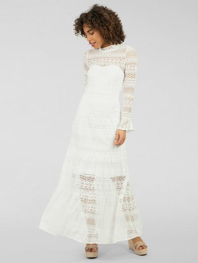 APART Langes Kleid in creme, Modelansicht