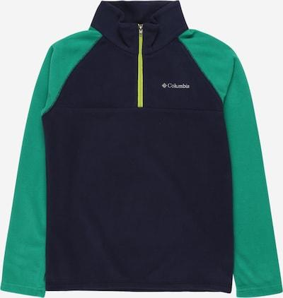 COLUMBIA Sportief sweatshirt 'Glacial™' in de kleur Navy / Groen, Productweergave