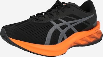 ASICS Sportschuh 'Novablast' in grau / orange / schwarz, Produktansicht