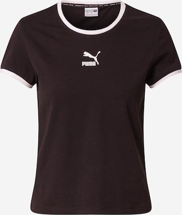 PUMA - Camiseta en negro